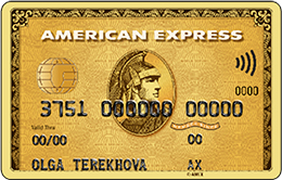 Кредитная карта Русский Стандарт American Express Gold Card